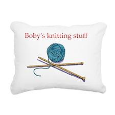 bobys-knitting Rectangular Canvas Pillow