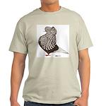 Brown Teager Cap Light T-Shirt