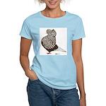 Brown Teager Cap Women's Light T-Shirt