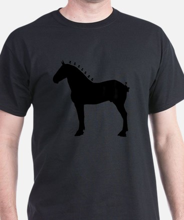 Icepick_lineart_silhouette_signed T-Shirt