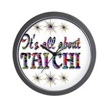 taichi Wall Clock