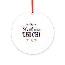 taichi Round Ornament