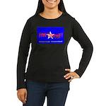 Free Yourself Women's Long Sleeve Dark T-Shirt