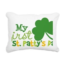1stStPatricksDay Rectangular Canvas Pillow