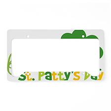 1stStPatricksDay License Plate Holder