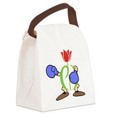 tee-knockout Canvas Lunch Bag