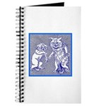 KITTY CATS IN BLUE Journal