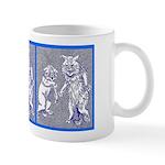 KITTY CATS IN BLUE Mug