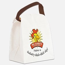 Mr Cluck1 Canvas Lunch Bag