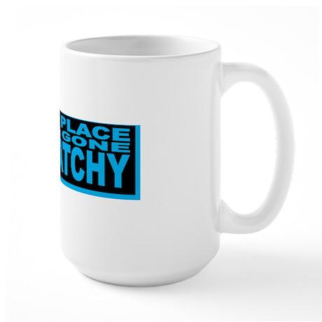 GONE SQUATCHY bs Large Mug