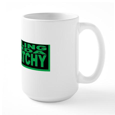 SQUATCHY bs Large Mug