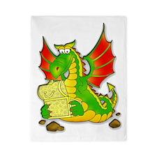 funny dragon Twin Duvet