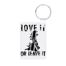 LOVE IT OR LEAVE IT BNW CO Keychains