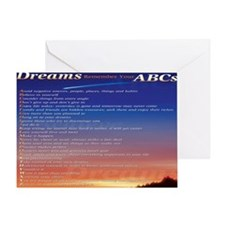 reviiiiised ABCs mousepad bottom cro Greeting Card