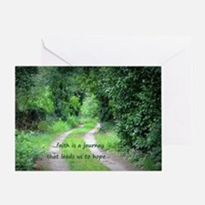Faith is a Journey Greeting Card