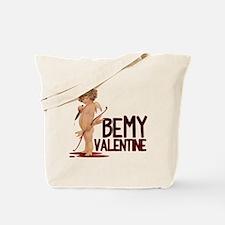 BEMYVALENTINE Tote Bag