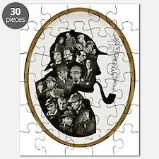 Manyfaces T  framed for black copy copy Puzzle