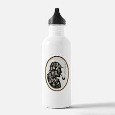Manyfaces T  framed fo Water Bottle