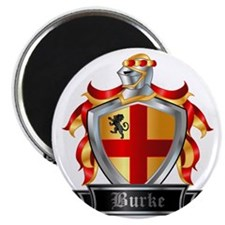 BURKE COAT OF ARMS Magnet