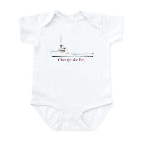 Chesapeake Bay Workboat Infant Bodysuit