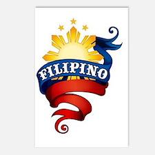 FILIPINO_KAMI_LOGO Postcards (Package of 8)