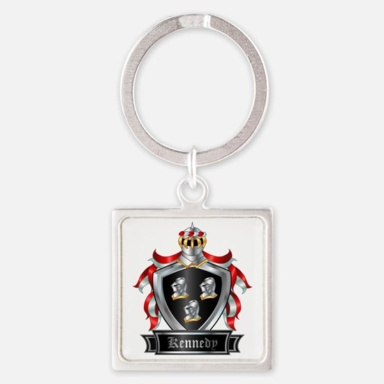 KENNEDY COAT OF ARMS Square Keychain