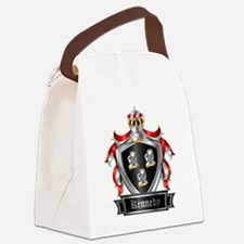 KENNEDY COAT OF ARMS Canvas Lunch Bag