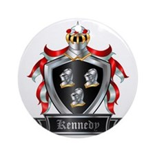 KENNEDY COAT OF ARMS Round Ornament