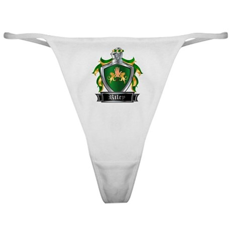 RILEY COAT OF ARMS Classic Thong