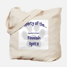 Finnish Spitz Property Tote Bag