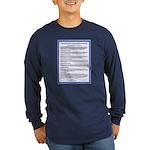 Covenant on Long Sleeve Dark T-Shirt