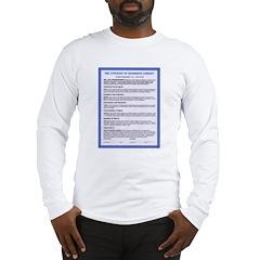 Covenant on Long Sleeve T-Shirt