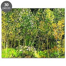 Van Gogh - The Grove, landscape painting Puzzle