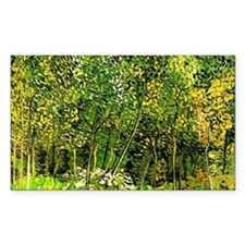 Van Gogh - The Grove, landscap Decal