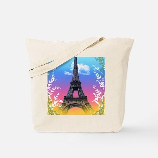 eiffel-tower-paris-france Tote Bag