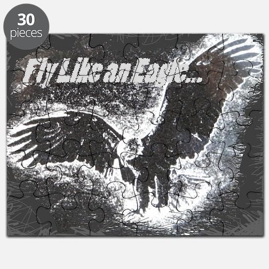 Eagle w Dk back Puzzle