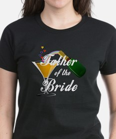 father of bride white Tee