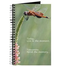 Live in the Moment Card Journal