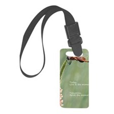 Live in the Moment Card Luggage Tag