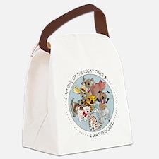 luckyone Canvas Lunch Bag