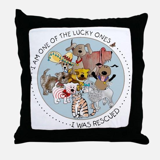 luckyone Throw Pillow