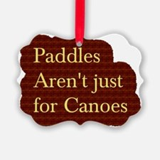 Canoes Ornament