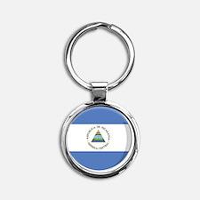 nicaragua Round Keychain