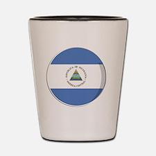 nicaragua Shot Glass