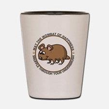 wombat3 Shot Glass