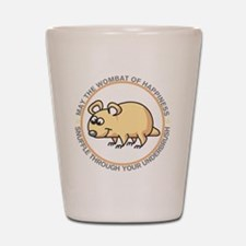 wombat2 Shot Glass