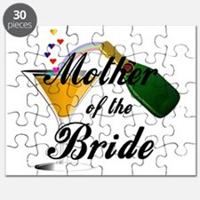 mother of bride black Puzzle
