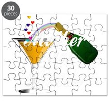 mother of bride white Puzzle