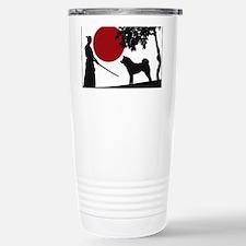 Akita Samurai Travel Mug