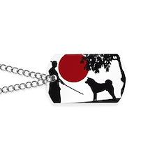 Akita Samurai Dog Tags